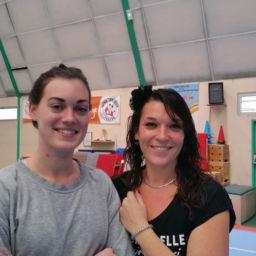Audrey et Justine du Home Pascale à Evreux