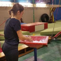 Elsa Smialkowski - Pratiquante de la gym fun à l'Avenir Ebroïcien, club de gymnastique à Evreux